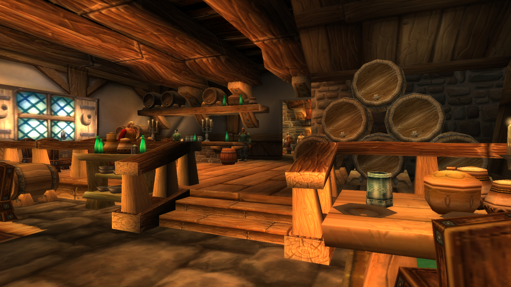 World of warcraft tavern